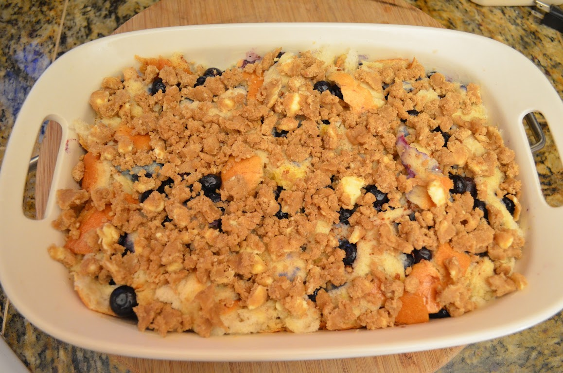 Overnight-Blueberry-French-Toast-Bake-With-Struesel-Topping-Crumble ...