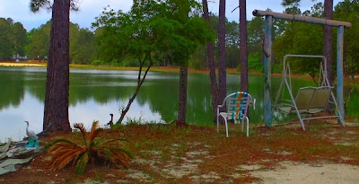 McIntosh Lake campground and RV Park, Townsend, Georgia by DearMissMermaid.Com