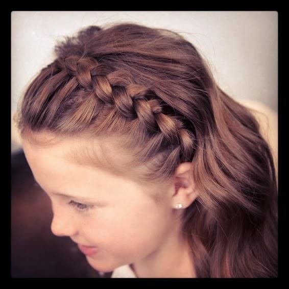 Peinados Faciles Paso A Paso Pelo Suelto - Peinados Con Trenza Con Pelo Suelto Fáciles Paso A Paso
