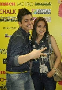 Vhong Navarro and girlfriend Tanya Winona Bautista