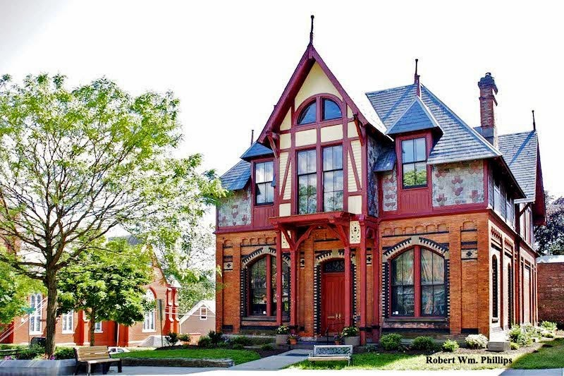 Howland Cultural Center for TBT as Howland Circulating Library