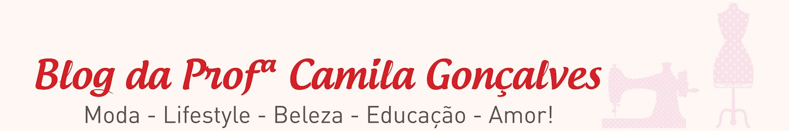 Blog da Profª Camila Gonçalves