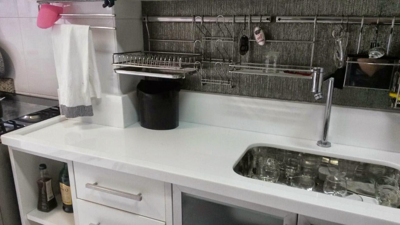 Ângulo Mármores e Granitos Bancada Cozinha Super Nano # Bancada Cozinha Super Nanoglass