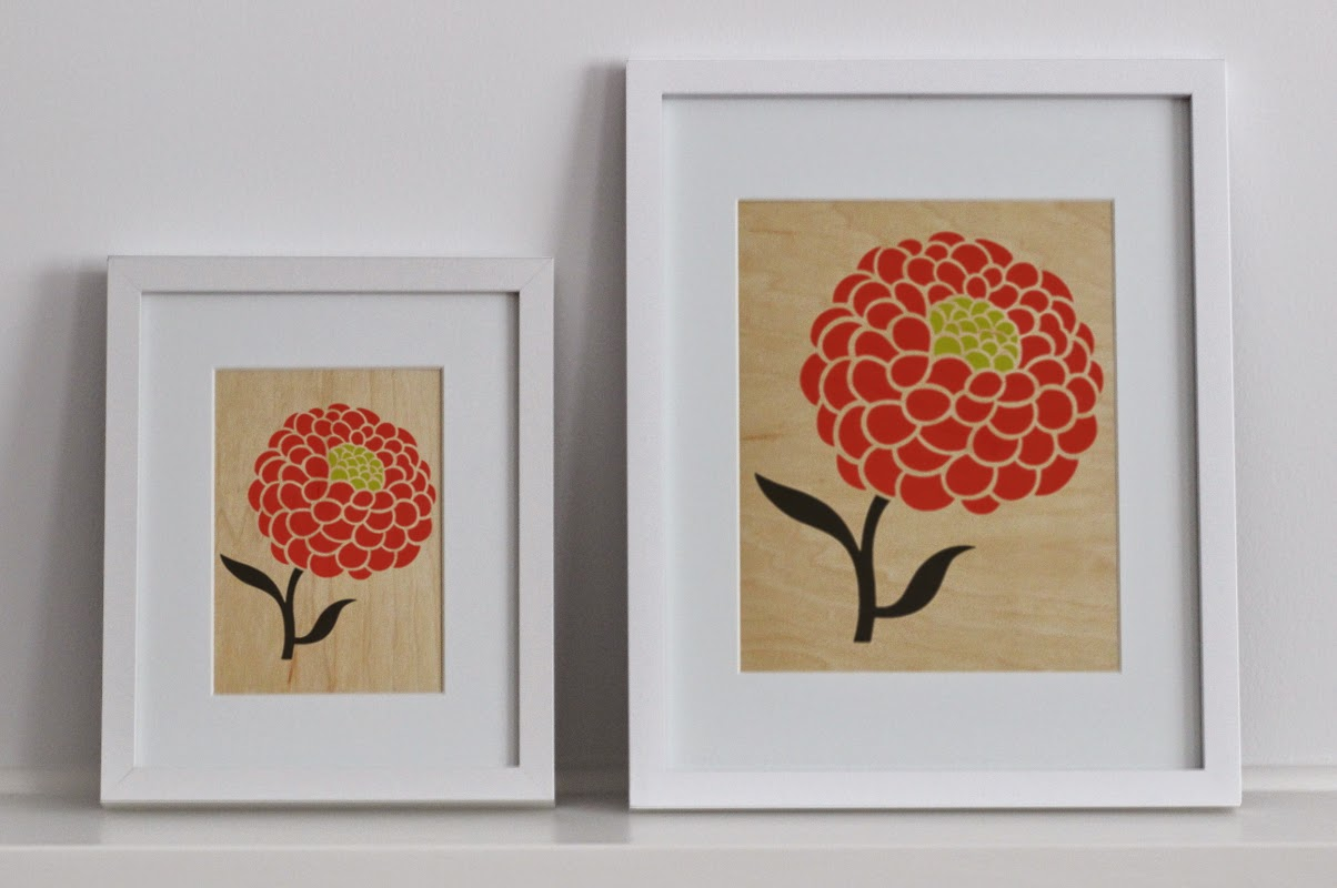 Modern Wood Prints