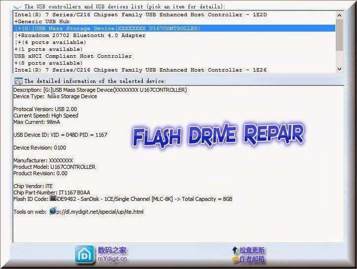 How to repair Xxxxxxxx u167controller Usb Device.