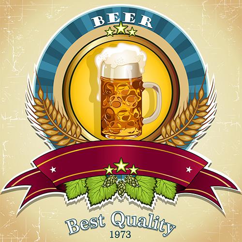 Vectores - del mundo de la cerveza 2h