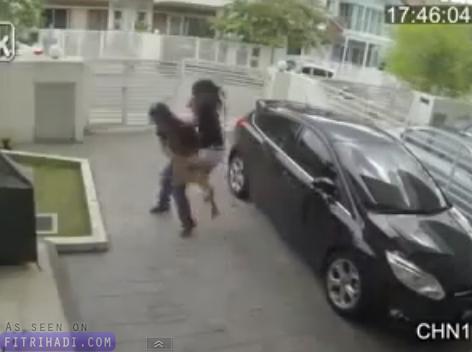video gadis malaysia pukul lawan peragut