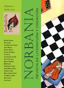 NORBANIA, Revista de Literatura y Creación, número 2