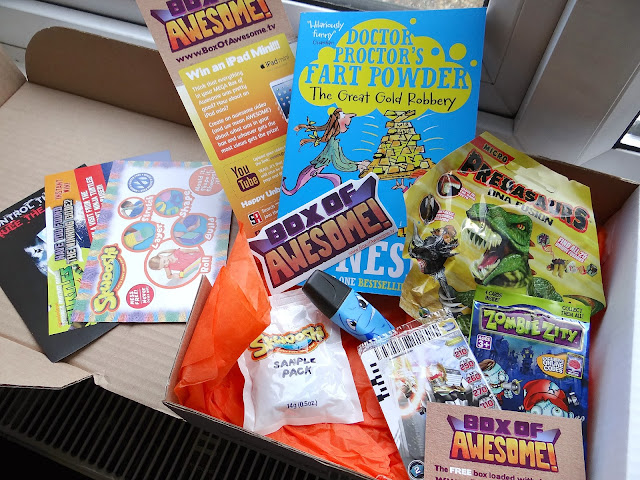 MEGA box of Awesome #6, box for children, monthly boxes
