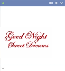 Good Night Sweet Dreams Emoticon Code