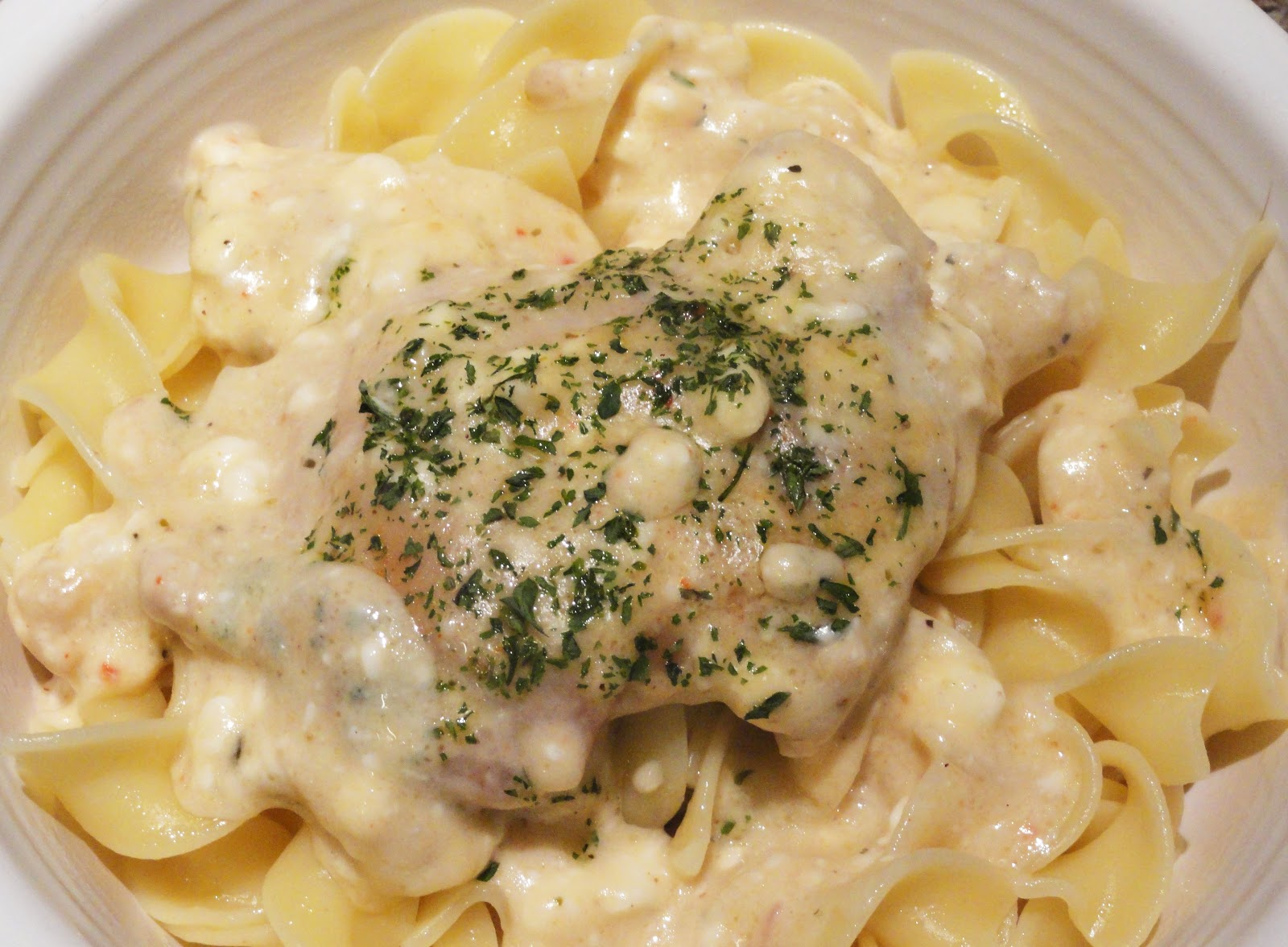 Angie's BIG Love of Food: Crockpot Chicken Stroganoff