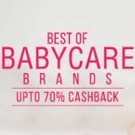 Get Babycare UpTo 70% Cashback :Buytoearn