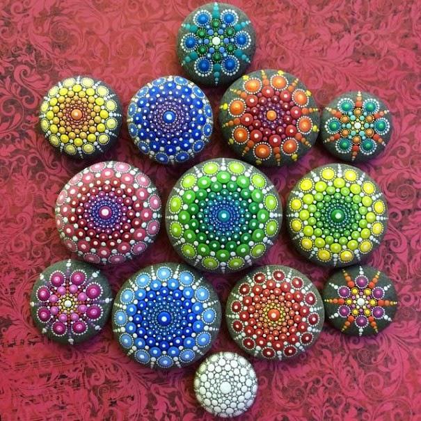 colorful ocean stones Elspeth McLean-5