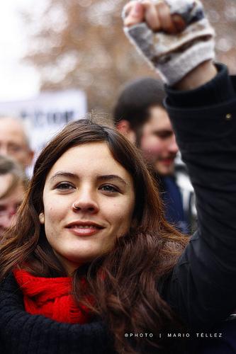 Chile: entrevista a Camila Vallejo, dirigente estudiantil
