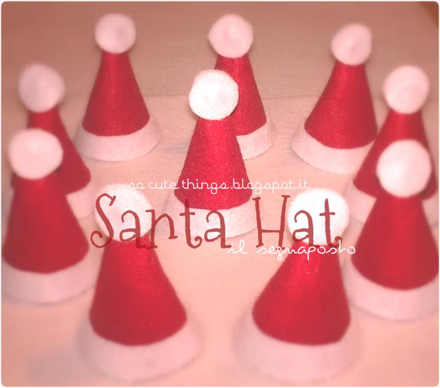 Segnaposto 'Santa Hat'