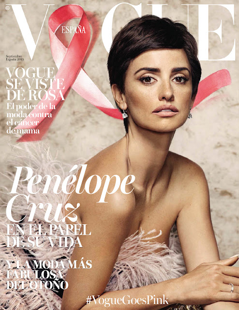 Actress, Model @ Penelope Cruz by Nico Bustos for Vogue Spain, September 2015
