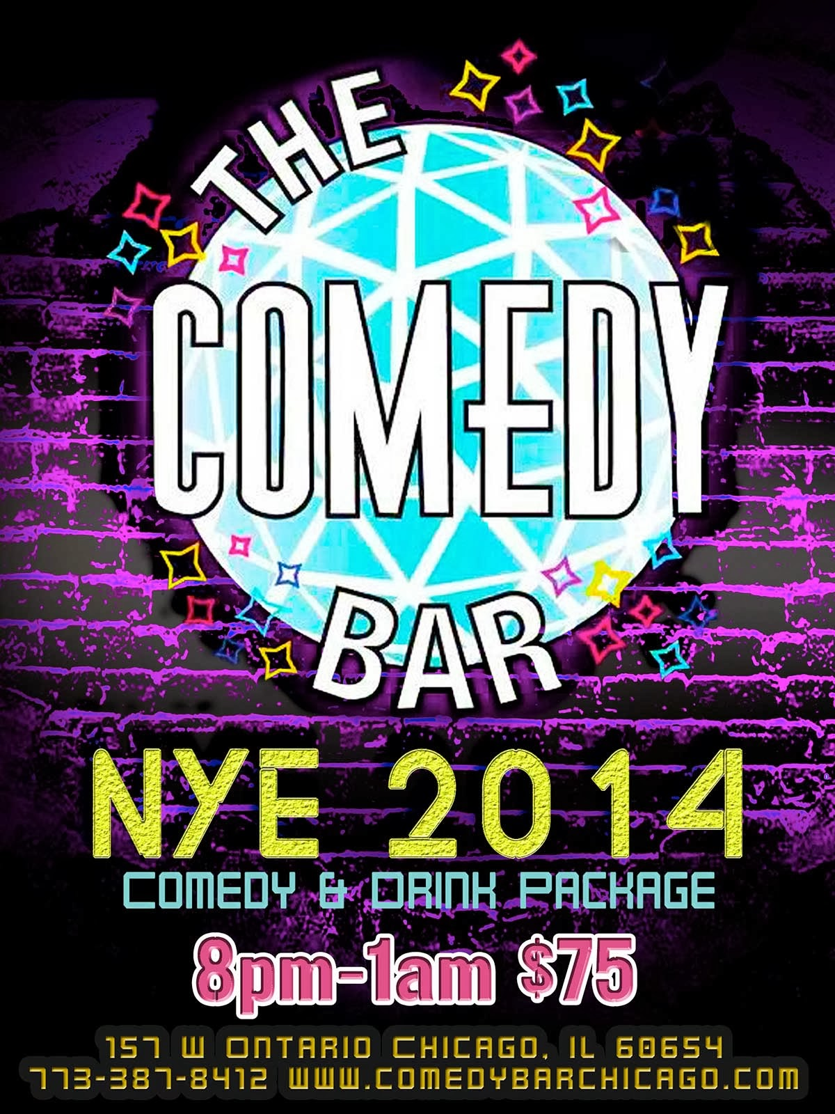 NYE 2014 @ The Comedy Bar!