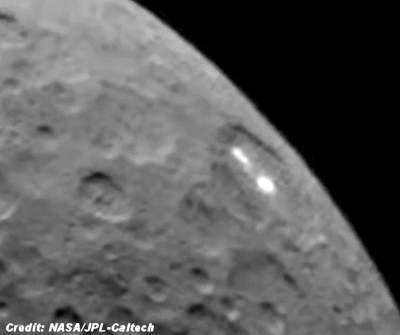Ceres Mysterious White Spots