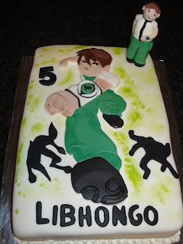 Ben 10 Cake for Libhongo