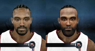 Ronny Turiaf Cyber Face NBA2K12 Patch Mods