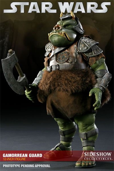Onesixthscalepictures sideshow collectibles star wars gamorrean guard latest product news for - Star wars gamorrean guard ...