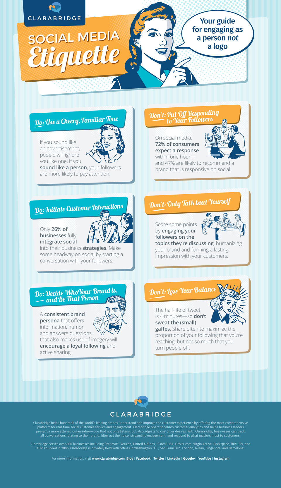 Infographic: Succeed on Social Media with Good Etiquette