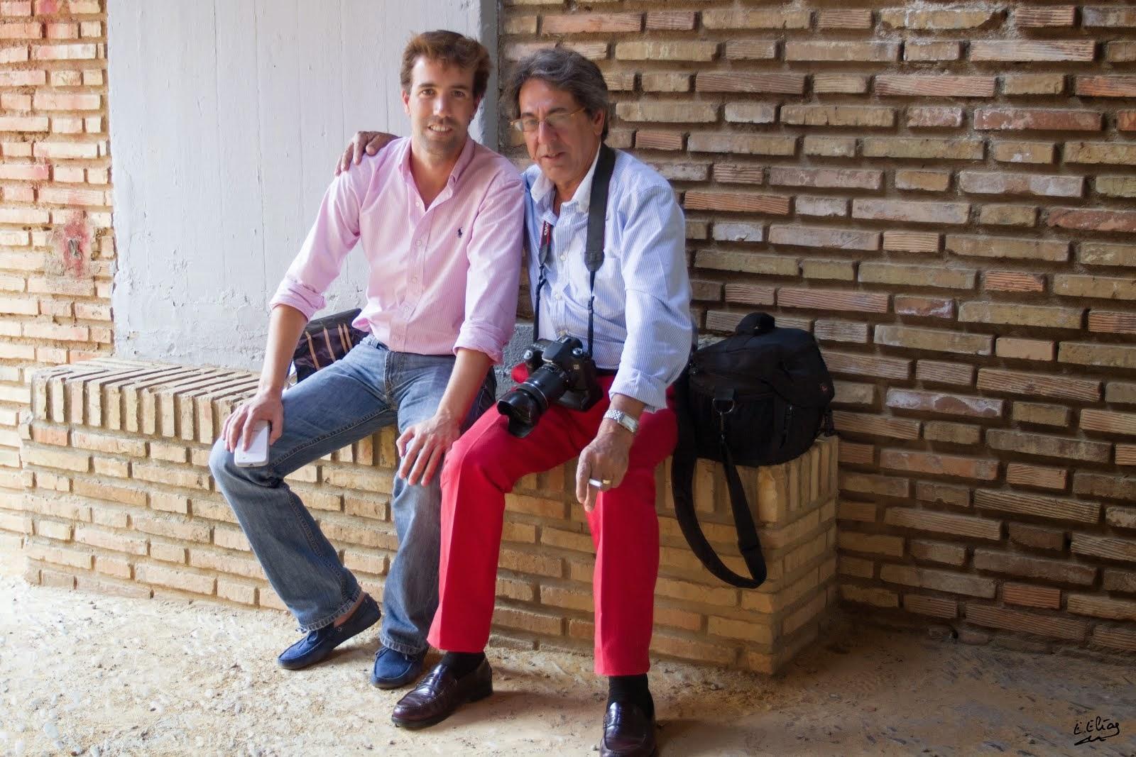 J.L.CUEVAS Y PACO GOMEZ