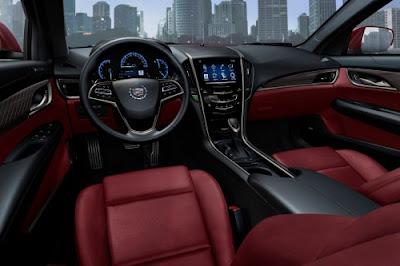 2014 Cadillac ATS Sedan Interior