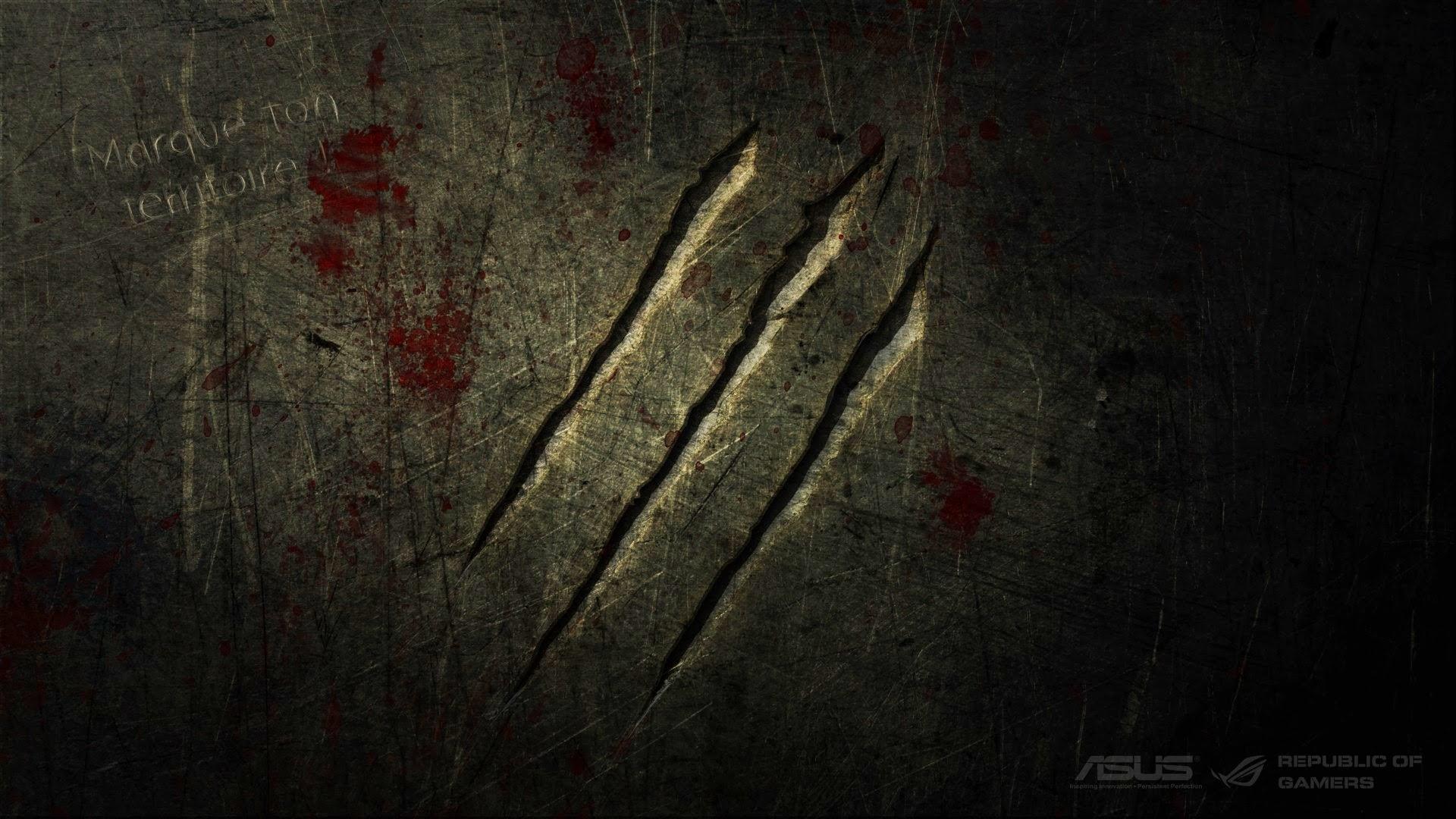 Wall Scratch Asus Republic Of Gamers A512 HD Wallpaper