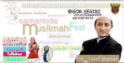 Samarinda Muslimah Fest 2013 SamarindaTepian.com