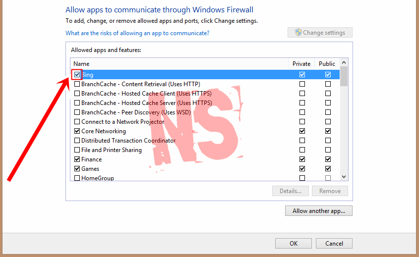 how to allow superbeam app through firewall windows 10
