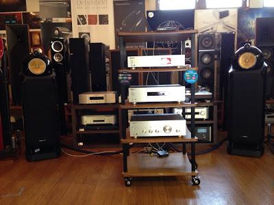 サウンドエース パイオニアイベントの製品:A-70、PD-70、N-50
