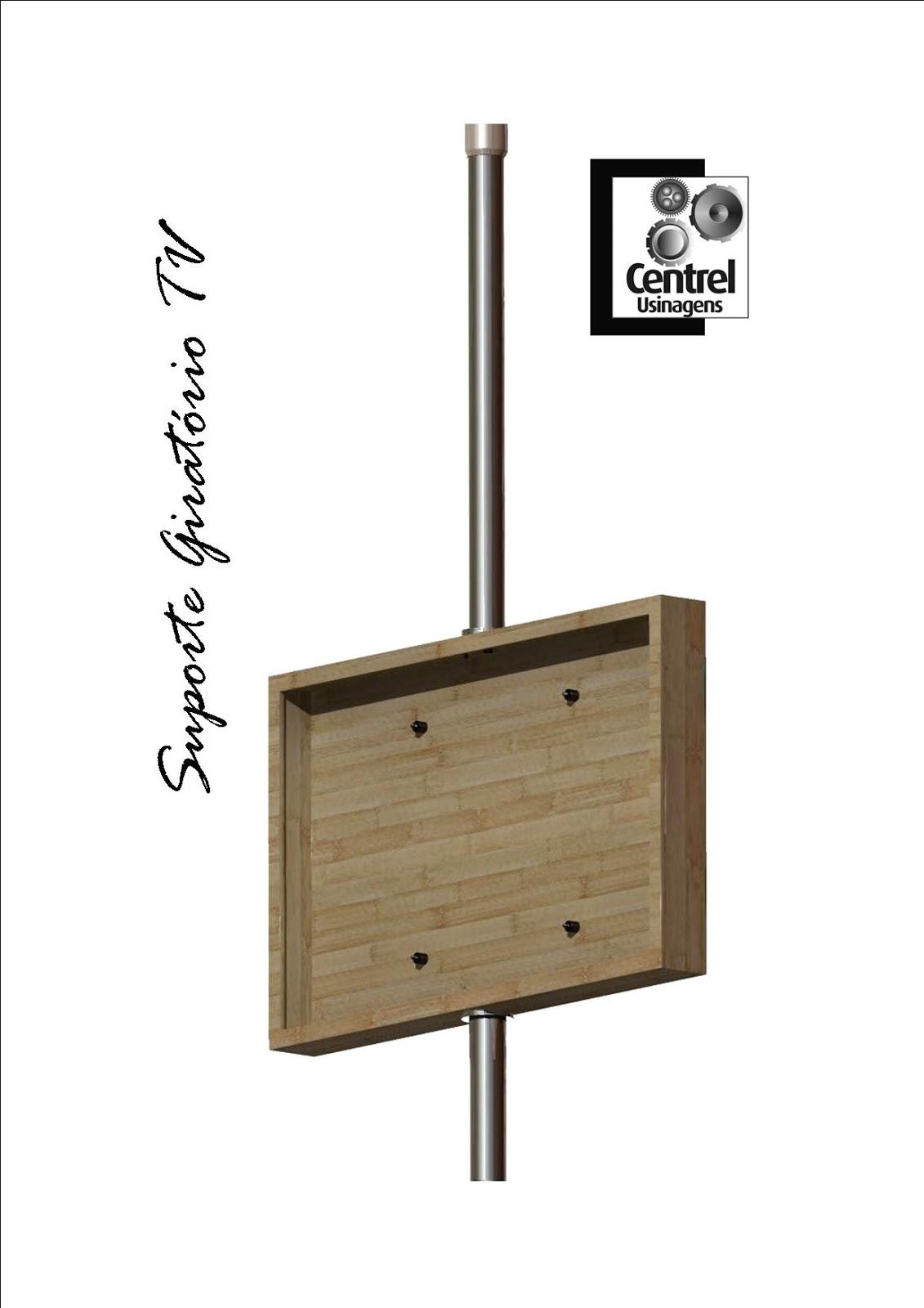 Vindo ao nosso Blog!: Suporte Giratório de TV para caixa de madeira #634E37 1131x1600