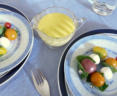 Basil-Garlic Mayonnaise