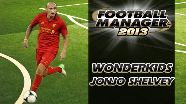 Football Manager 2013 Wonderkid Jonjo Shelvey