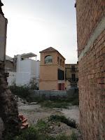 Málaga, solar resultado de demoliciones de edificios históricos en calle Granada y Calle Zegrí
