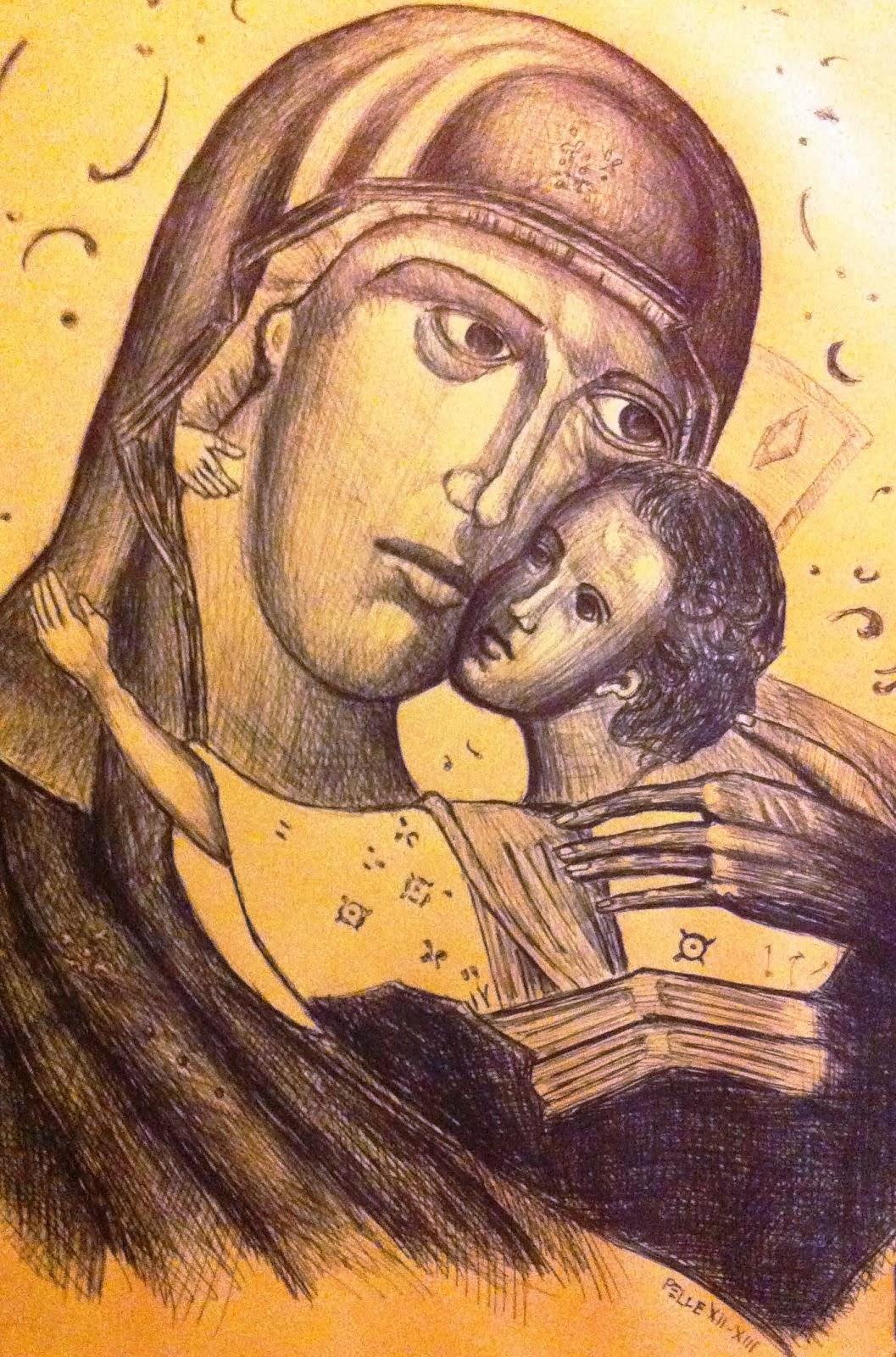 Madonna Bisanzio (Bic)