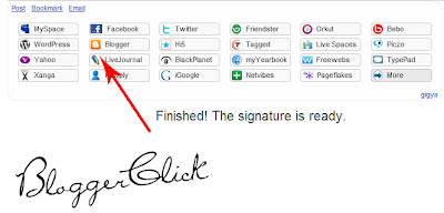 Tips & S0ftw@res: Make Your Own Signature to Create for Blogger or ...