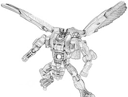 Transformers Fall Of Cybertron Character Coloring Pages