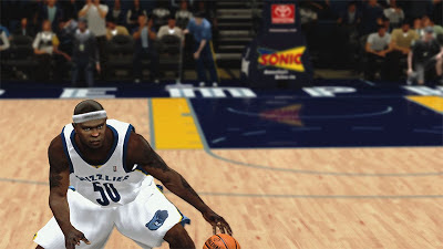 NBA 2K13 Zach Randolph Cyberface Patch