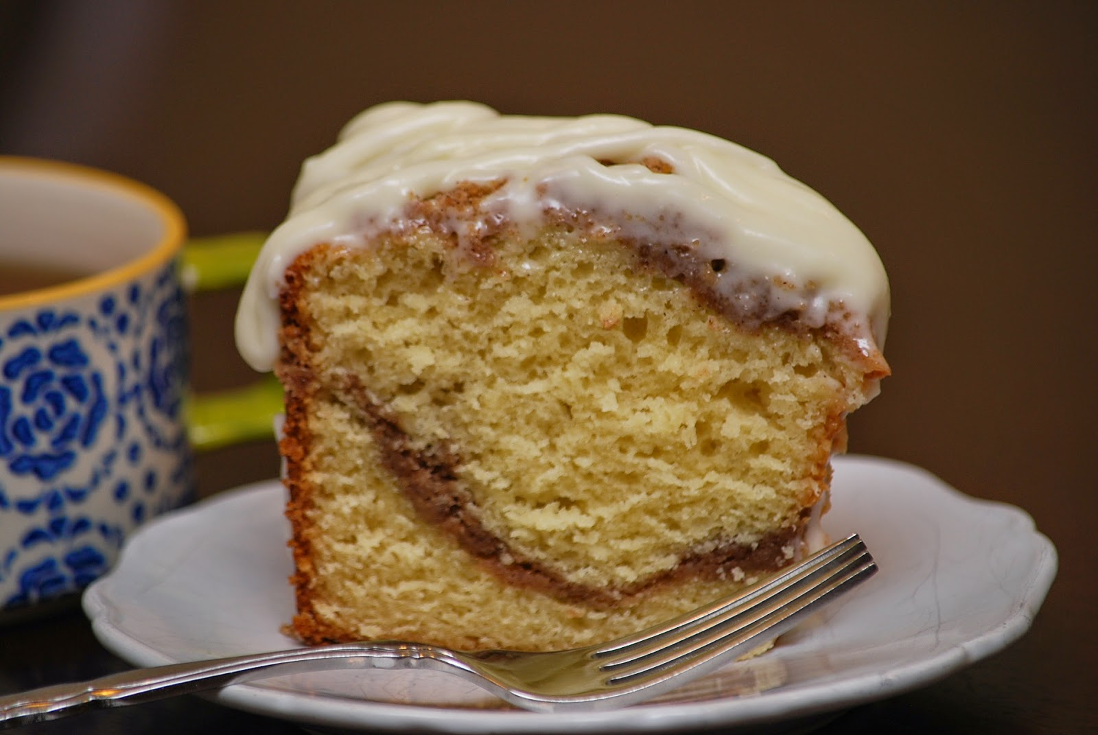 My story in recipes: Greek Yogurt Coffee Cake