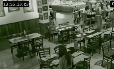 fantasma en restaurante de londres