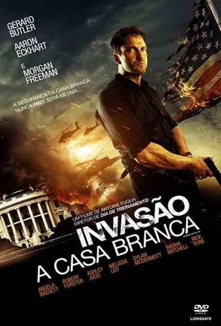 Filme Invasão à Casa Branca Dublado AVI BDRip