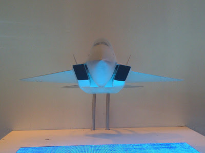 FIRST PHOTOS: Model Of India's Re-designed AMCA Fighter Concept