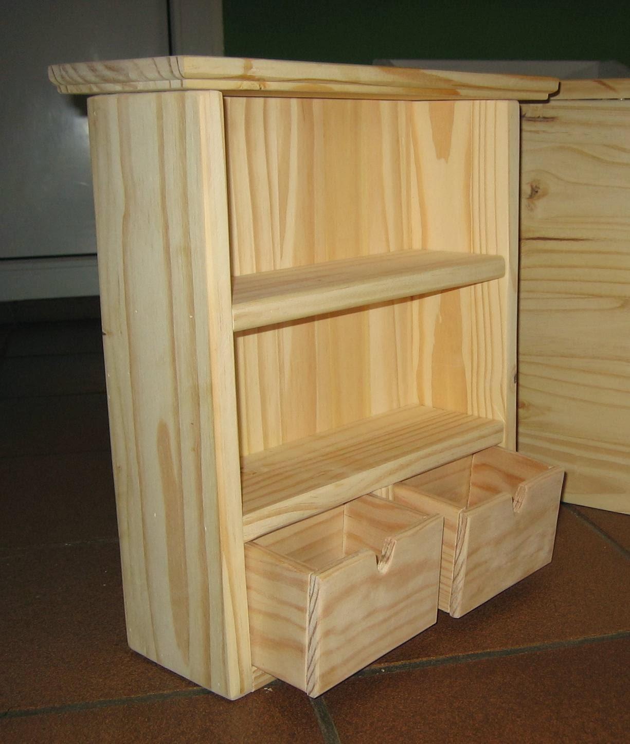 Muebles Auxiliares De Madera Especiero