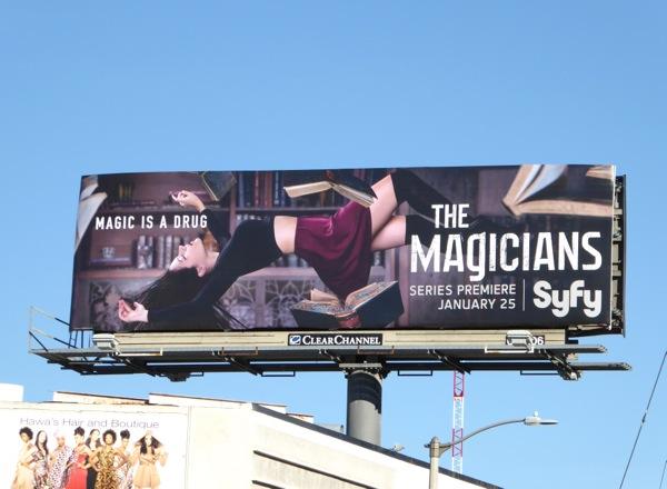 Magicians series premiere billboard