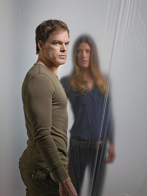 Michael C Hall and Jennifer Carpenter in Dexter 7