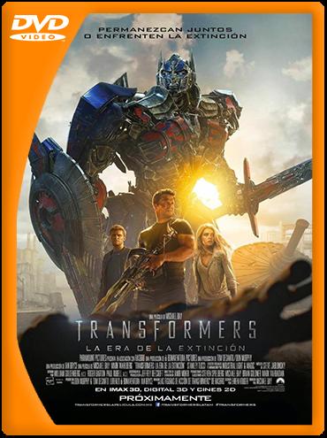 Transformers 4: La Era de la Extinción (2014) DVDRip Latino