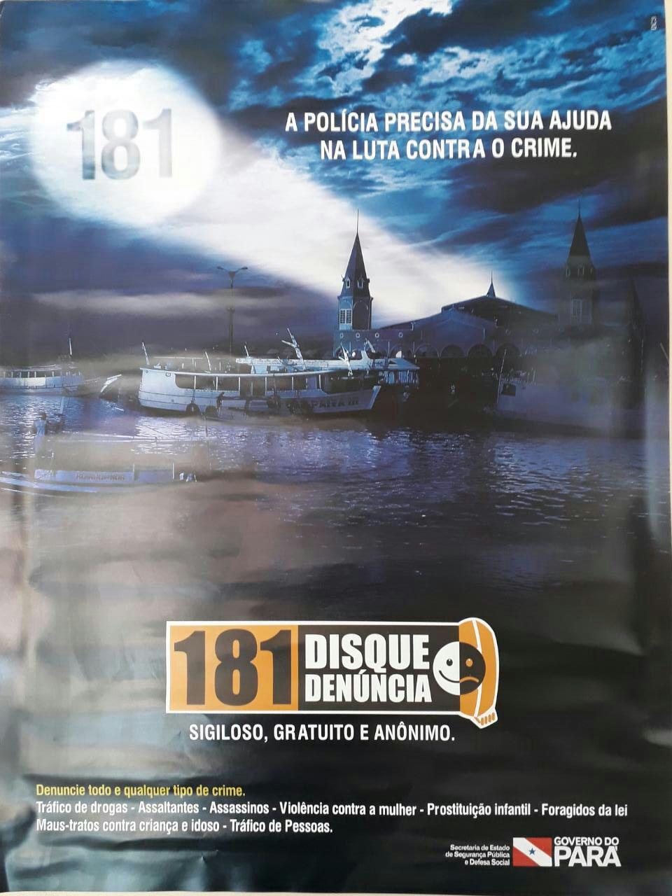 181 - DISQUE DENÚNCIA