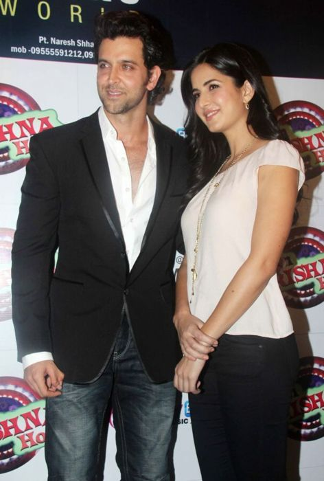Katrina Kaif  - Katrina Kaif with Hrithik At Main Krishna Hoon Music Launch